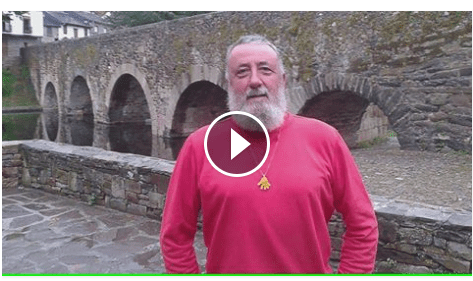 video manos solidarias CAMINO DE SANTIAGO